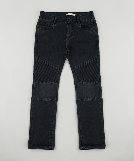 Calca-Jeans-Infantil-com-Recorte-Preta-9886336-Preto_1