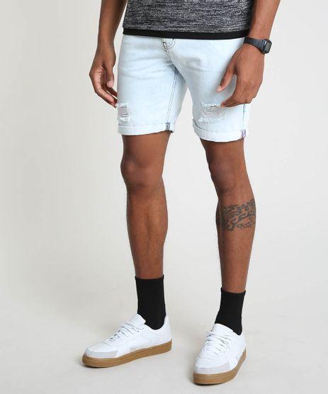 Bermuda-Jeans-Masculina-Slim-Destroyed-Azul-Claro-9896513-Azul_Claro_1