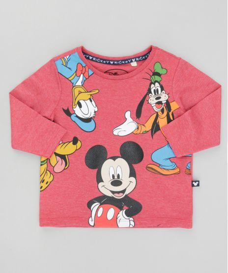 c9e2b829f Camiseta-Turma-do-Mickey-Vermelha-8529800-Vermelho 1