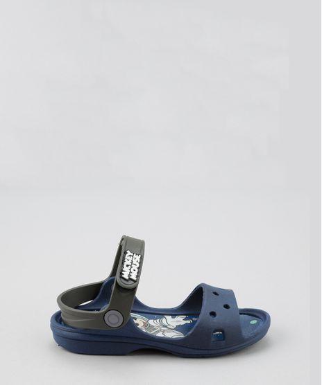 7e45a750e0 Sandalia-Papete-Mickey-Azul-Marinho-8661512-Azul Marinho 1
