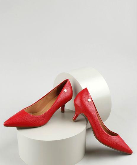 Scarpin-Feminino-Vizzano-em-Verniz-Texturizado-Bico-Fino-Salto-Fino-Baixo-Vermelho-9050933-Vermelho_1