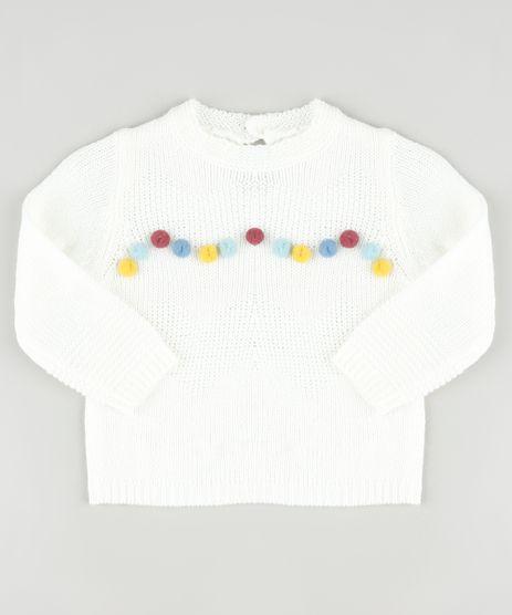 Sueter-Infantil-em-Trico-com-Pompom-Off-White-9794875-Off_White_1