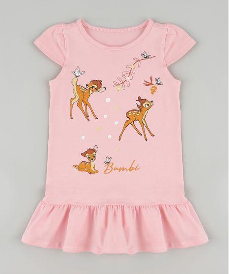 Vestido-Infantil-Bambi-com-Babado-Manga-Curta-Rosa-9880761-Rosa_1