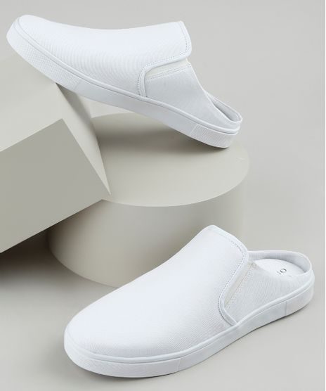 Tenis--Slip-On-Mule-Masculino-Oneself-Branco-9924378-Branco_1