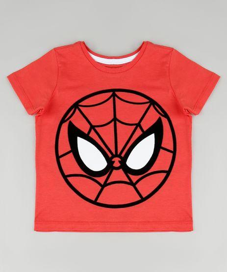 Camiseta-Infantil-Homem-Aranha-Manga-Curta-Vermelha-9909897-Vermelho_1
