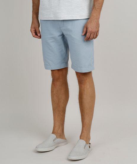 Bermuda-Masculina-Reta-Alfaiatada-com-Linho-Azul-Claro-9754938-Azul_Claro_1