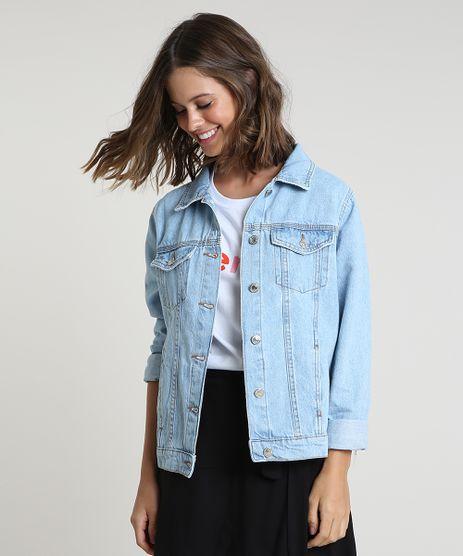 Jaqueta-Jeans-Feminina-com-Bolsos-Azul-Claro-9862377-Azul_Claro_1