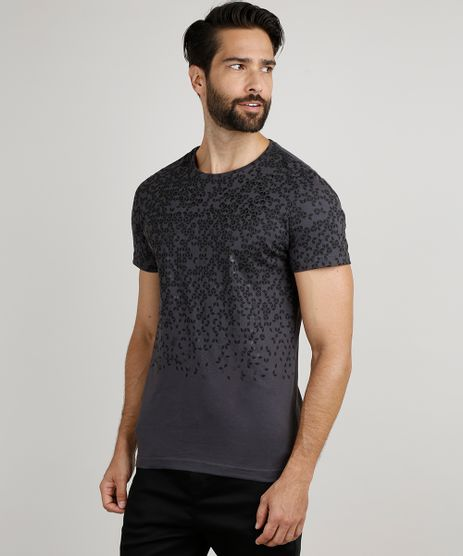 Camiseta-Masculina-Slim-Geometrica-Manga-Curta-Gola-Careca-Chumbo-9867272-Chumbo_1