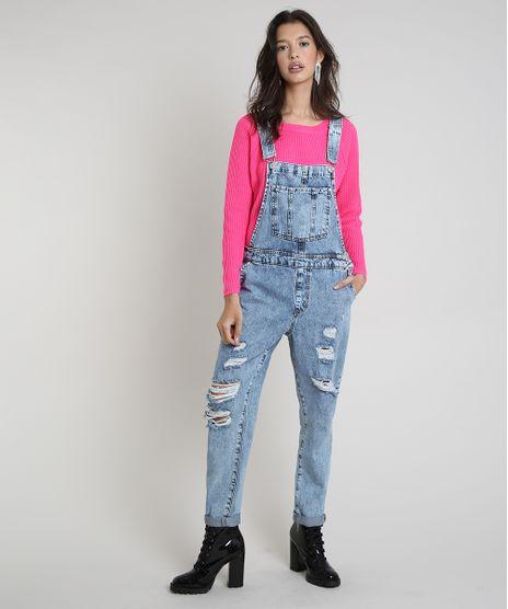 Macacao-Jeans-Feminino-Relaxed-Destroyed-Azul-Claro-9862474-Azul_Claro_1