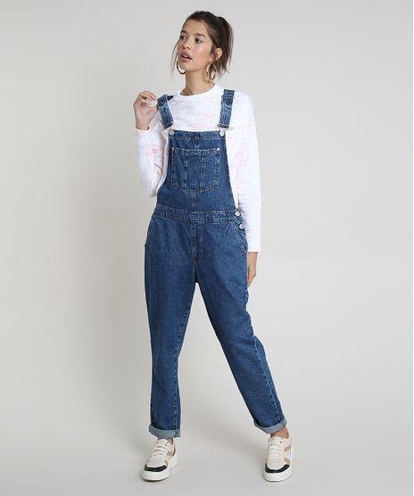 Macacao-Jeans-Feminino-Relaxed-Azul-Escuro-9862475-Azul_Escuro_1