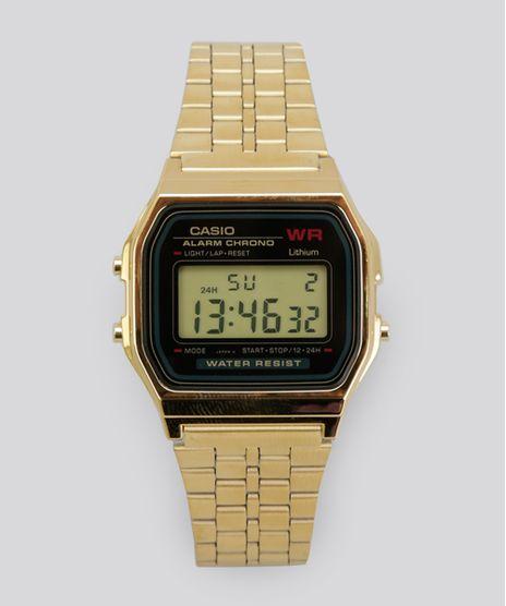 Relogio-Digital-Casio-Feminino---A159WGEA1DF-Dourado-8644582-Dourado_1