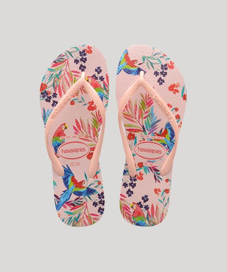 Chinelo-Feminino-Havaianas-Slim-Tropical-Floral-Estampado-Rose-9917871-Rose_1