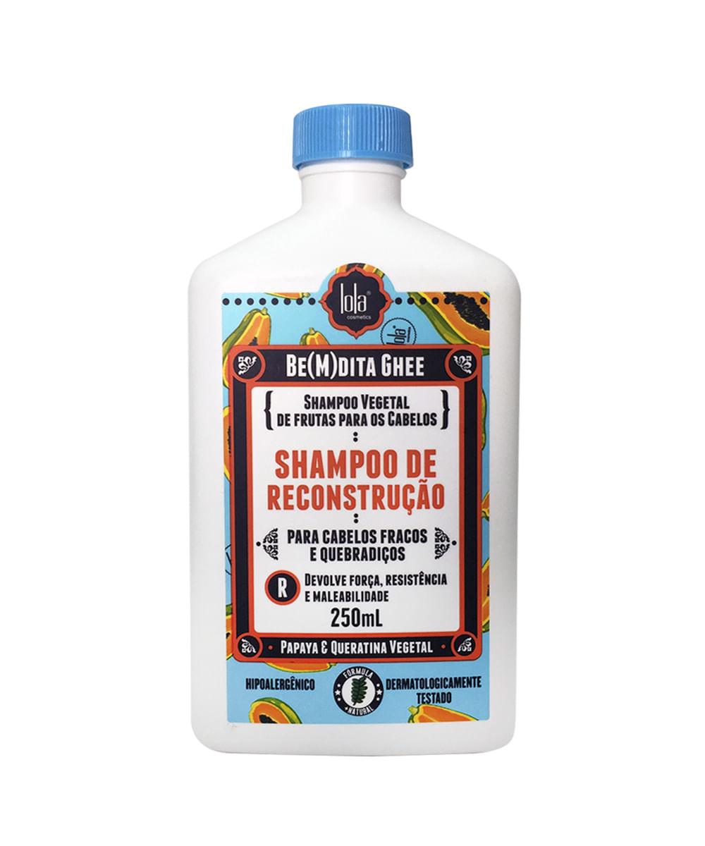 Shampoo Bem Dita Ghee Reconstrução 250ml - Lola Cosmetics único