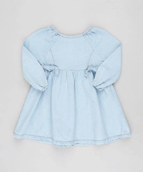 Vestido-Jeans-Infantil-com-Recortes-Manga-Longa-Azul-Claro-9894186-Azul_Claro_1