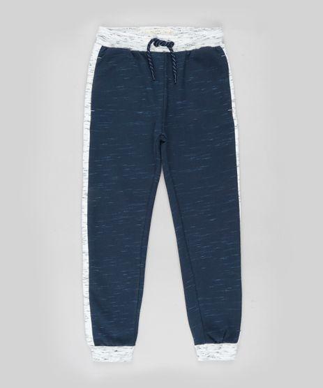 Calca-Infantil-Basica-Jogger-em-Moletom-Felpado-com-Recortes-Azul-Marinho-9799877-Azul_Marinho_1