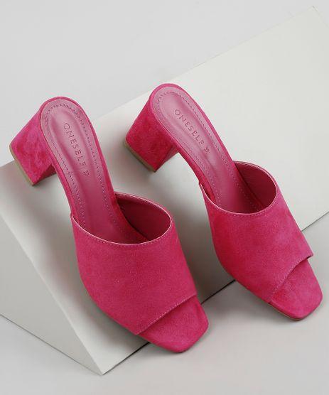Tamanco-Feminino-Oneself-Salto-Quadrado-Medio-em-Suede-Pink-9683916-Pink_1