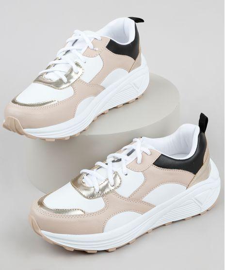 Tenis-Feminino-Oneself-Sneaker-Chunky-com-Recortes-Branco-9907597-Branco_1