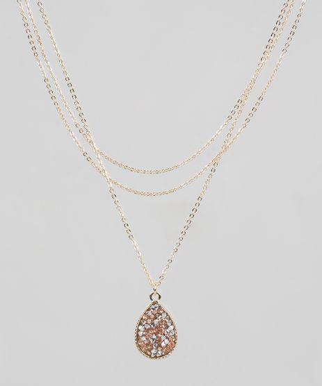 Colar-Feminino-Alongado-com-Pingente-de-Pedra-Zirconia-Dourado-9860318-Dourado_1