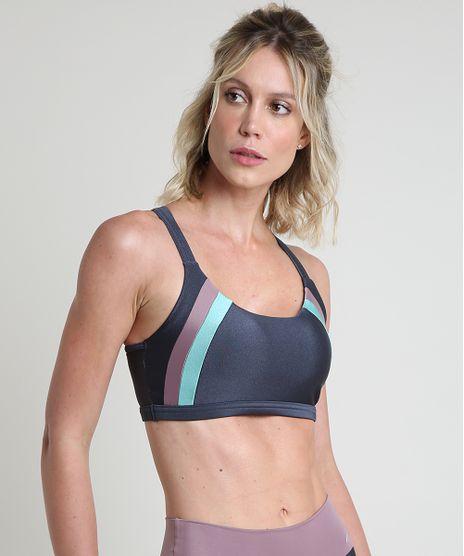 Top-Feminino-Esportivo-Ace-Color-Block-com-Bojo-Removivel-Decote-Nadador-Chumbo-9889329-Chumbo_1