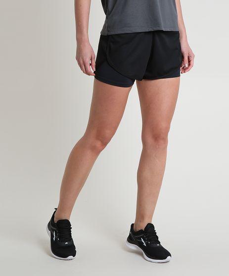 Short-Feminino-Esportivo-Ace-Running-com-Sobreposicao-Preto-9875370-Preto_1