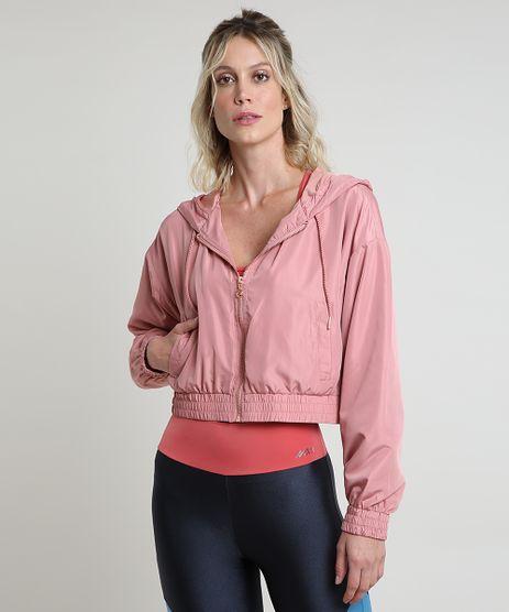 Jaqueta-Corta-Vento-Feminina-Esportiva-Ace-Cropped-com-Capuz-e-Bolsos-Rose-9794318-Rose_1