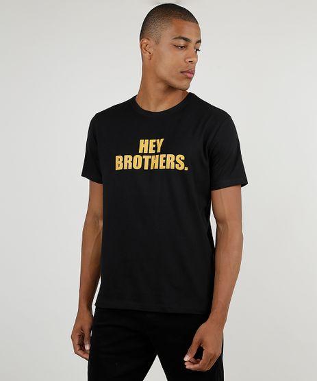 Camiseta-Masculina-BBB--Hey-Brothers--Manga-Curta-Gola-Careca-Preta-9946161-Preto_1