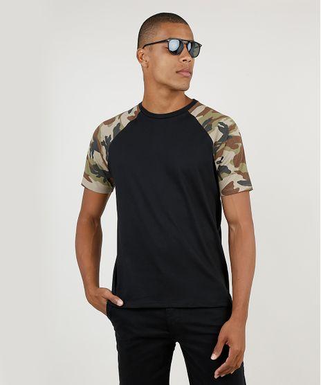 Camiseta-Masculina-Raglan-Manga-Curta-Gola-Careca-Preta-9896414-Preto_1