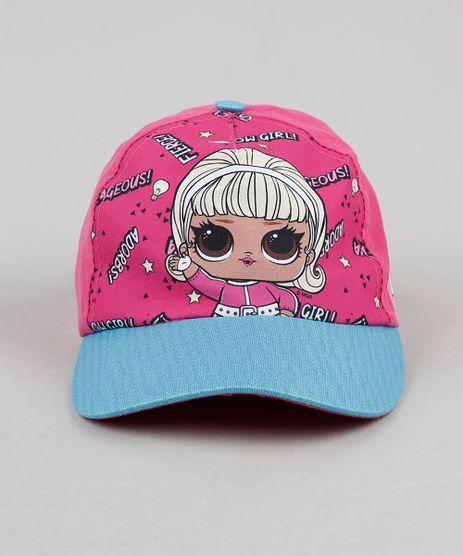 Bone-Infantil-Aba-Curva-LOL-Surprise-Pink-9927286-Pink_1