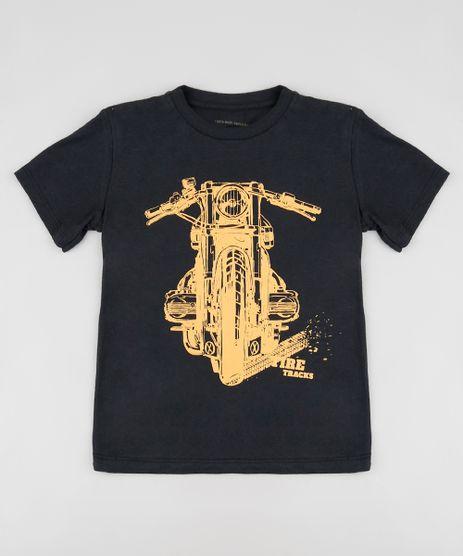 Camiseta-Infantil--Tire-Tracks--Manga-Curta-Preta-9885112-Preto_1
