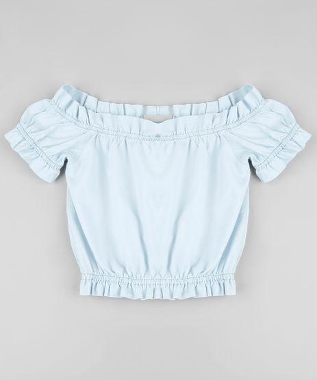 Blusa-Jeans-Infantil-Cropped-Ombro-a-Ombro-Manga-Curta-Azul-Claro-9928608-Azul_Claro_1