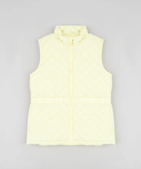 Colete-Infantil-Puffer-Matelasse-Amarelo-9785466-Amarelo_1
