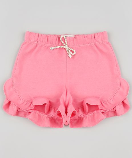 Short-Infantil-em-Moletom-com-Babado-Rosa-9888004-Rosa_1