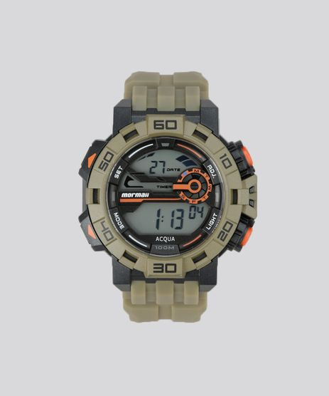 6c46dc3be5a Relogio-Digital-Mormaii-Masculino---MO1148AC8M-Verde-Militar-