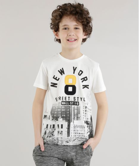 a7f1770779 Camiseta--New-York--Off-White-8611820-Off White 1 ...