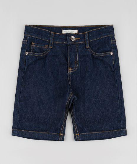 Bermuda-Jeans-Infantil-Reta-Azul-Escuro-9655094-Azul_Escuro_1