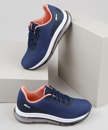 Tenis-Feminino-Actvitta-Running-em-Nylon-com-Solado-Translucido-Azul-Marinho-9919523-Azul_Marinho_1