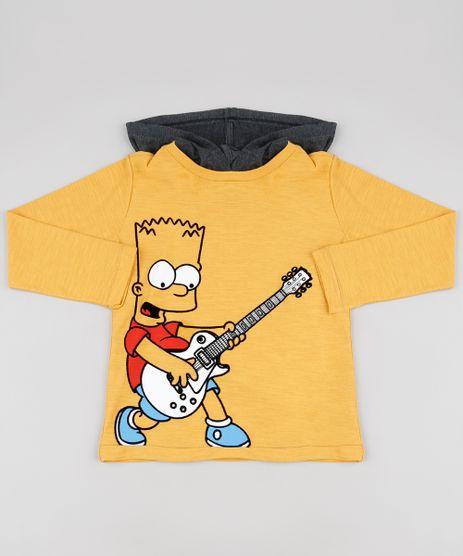 Camiseta-Infantil-Bart-Simpsons-com-Capuz-Manga-Longa-Mostarda-9885109-Mostarda_1