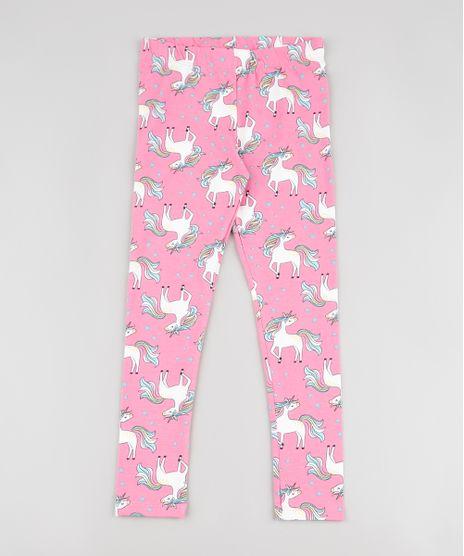 Calca-Legging-Infantil-Estampada-de-Unicornios-Rosa-9909620-Rosa_1
