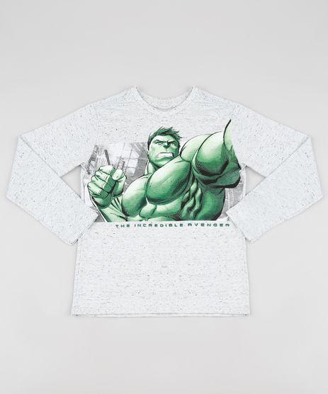 Camiseta-Infantil-Hulk-Manga-Longa-Cinza-Mescla-Claro-9873467-Cinza_Mescla_Claro_1