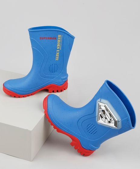 Bota-Galocha-Infantil-Grendene-Super-Homem-Azul-9938921-Azul_1