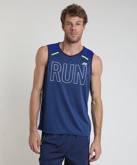 Regata-Masculina-Esportiva-Ace--Run--Gola-Careca-Azul-Escuro-9888407-Azul_Escuro_1