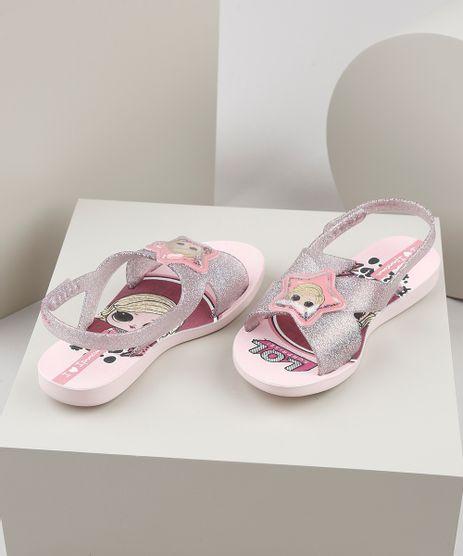 Rasteirinha-Infantil-Ipanema-LOL-Surprise-Estampada-com-Glitter-Rosa-Claro-9925097-Rosa_Claro_1