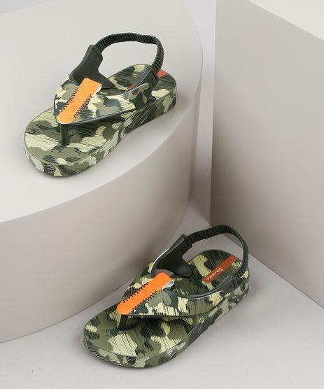 Chinelo-Infantil-Ipanema-Estampado-Camuflado-com-Elastico-Verde-Militar-9925121-Verde_Militar_1