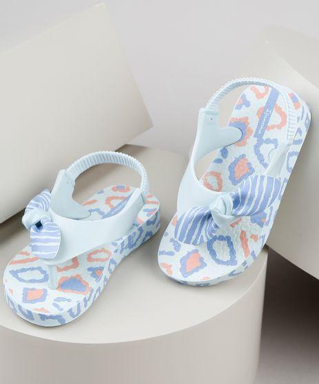 Chinelo-Infantil-Ipanema-Estampado-Animal-Print-com-Elastico-Azul-Claro-9925124-Azul_Claro_1