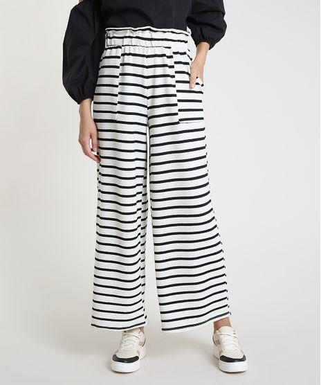 Calca-Feminina-Pantalona-Listrada-com-Linho-e-Bolsos-Off-White-9923530-Off_White_1