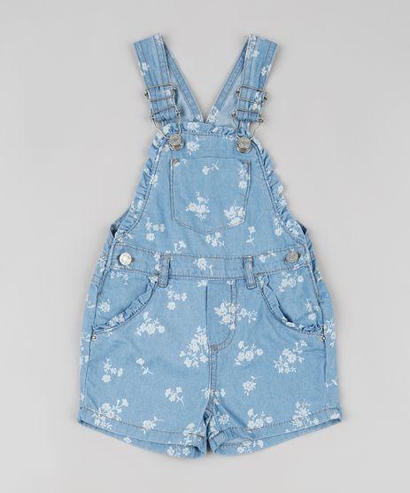 Jardineira-Jeans-Infantil-Estampada-Floral-com-Babado-Azul-Claro-9894202-Azul_Claro_1