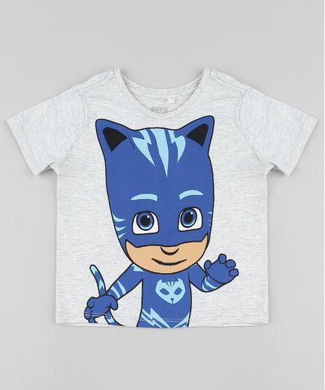Camiseta-Infantil-Menino-Gato-PJ-Masks-Manga-Curta-Cinza-Mescla-Claro-9931924-Cinza_Mescla_Claro_1