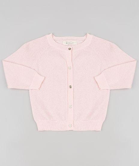 Cardigan-Infantil-em-Trico-com-Lurex-Rose-9794867-Rose_1