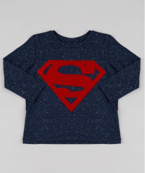 Camiseta-Infantil-Super-Homem-Botone-Manga-Longa-Azul-Marinho-9879732-Azul_Marinho_1