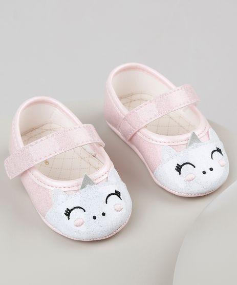 Sapatilha-Infantil-Pimpolho-Unicornio-em-Verniz-com-Glitter--Rosa-9940899-Rosa_1